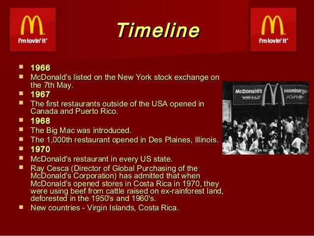McDonalds Menu - A Historical Timeline of Items on the McDonald's ...