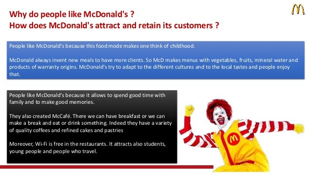 mcdonald case how are cusomer tastes changing 1) you bring your own teabags 2) you ask for separate checks after you've finished your meal 3) you're a foreigner who knows the customary tip in the us is 15% but feign ignorance so you can save a few bucks.