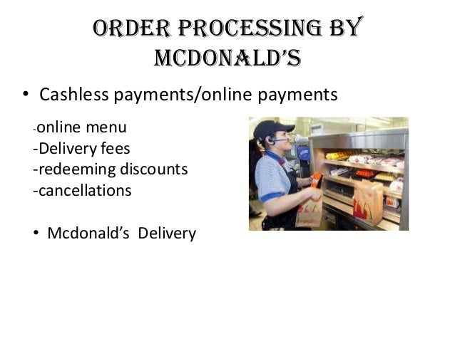 mcdonalds delivery system Mcdonald's guarantees one-minute drive-thru service or you get free   reminiscent of domino's old guarantee or pizza delivery in less than.