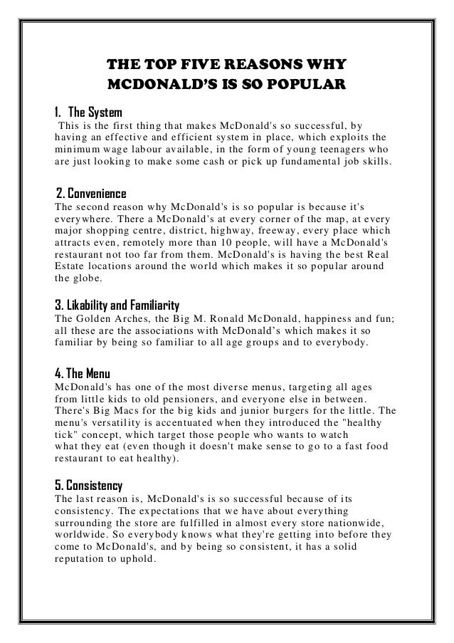 mcdonalds what does it mean to Mcdonald's is usually very good at working in the flexibility keep in mind though that 6 hours a week is not much it's possible that the manager may decide you working only that much isn't worth the training.
