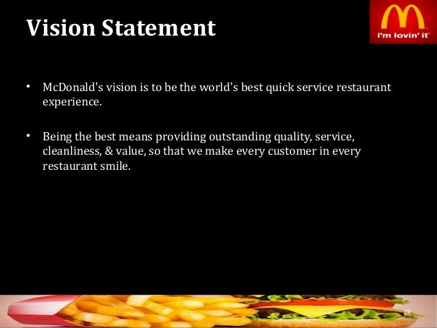Strategic Management: Case study of McDonald's China