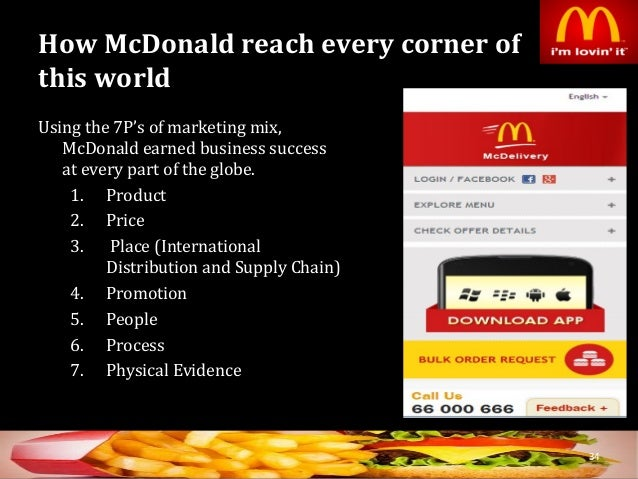 global business strategy of mcdonald essay Mcdonald's is one of the world's leading fast food makers, 1995 when ray kroc started the franchising system till now mcdonald's.