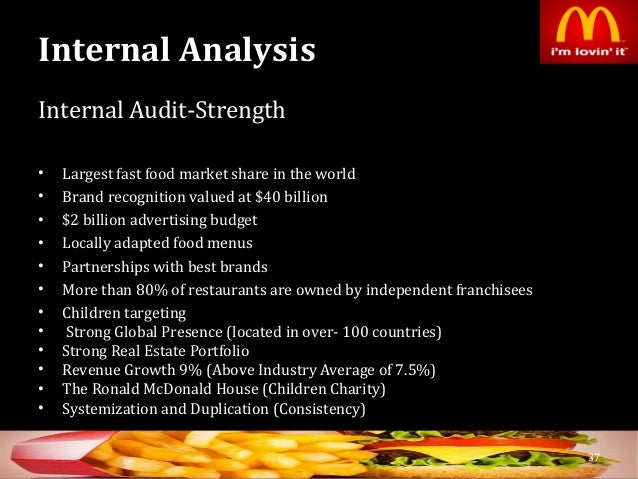 mcdonalds success analysis Mcdonald's swot analysis shows that the fast food company generates a lot of revenue and has a strong brand attracting large numbers of loyal customers.