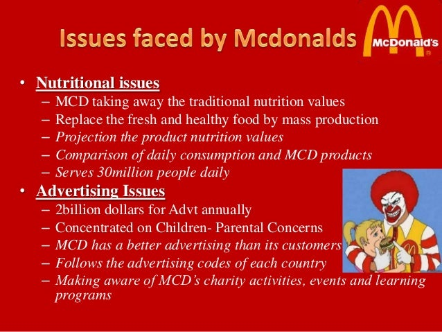 mcdonalds code of conduct