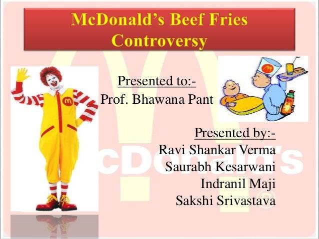 McDonald's Settles Beef Over Fries