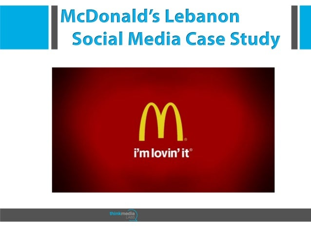 mcdonald case study marketing