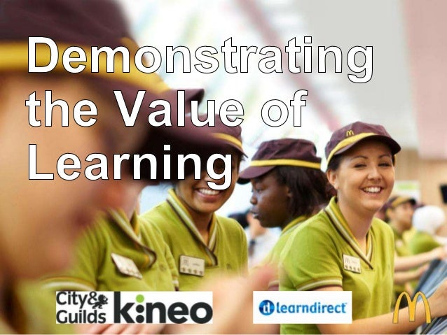 McDonald's 'Demonstrating the Value of Learning' | Learning Insights Live 2014