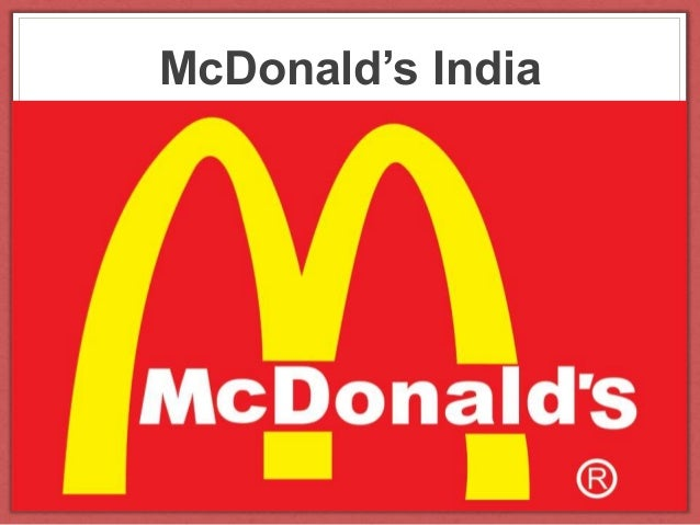 A company analysis of mcdonalds corporation
