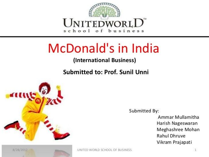 McDonald's in_india_IB_assignment