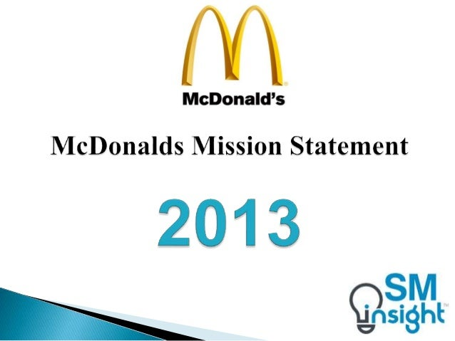 mc donalds corporation essay