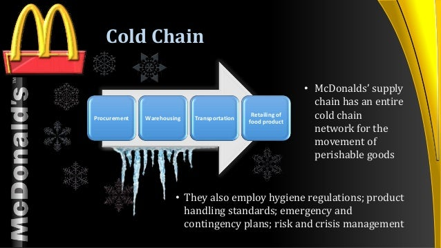 supply chain flows of mcdonalds essay The mcdonald's supply chain is designed to assure the fast-food chain of delivery mcdonald's wants to be assured of delivery.