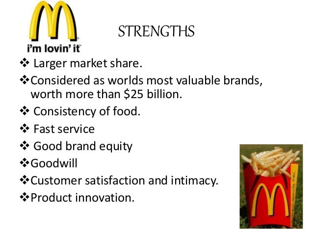 limitations of market research mcdonalds Inclusiveness mcdonald's is one of the world's most universal, democratic brands we welcome customers of every culture, age and background, and we proudly invest in all the people our success rests on – our crew, our suppliers and our community.