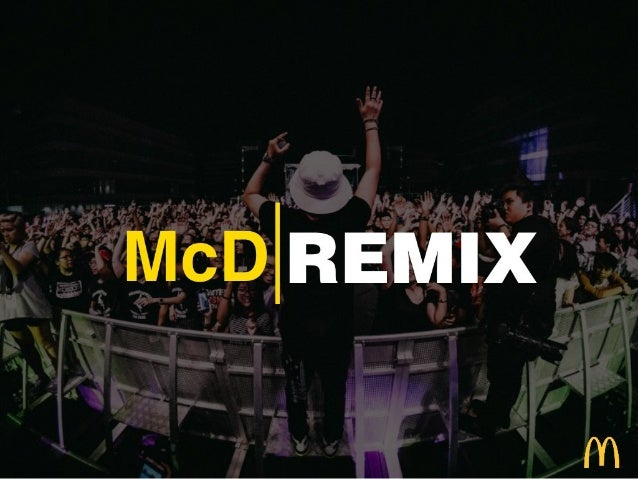 Big Idea: McDonald's Remix