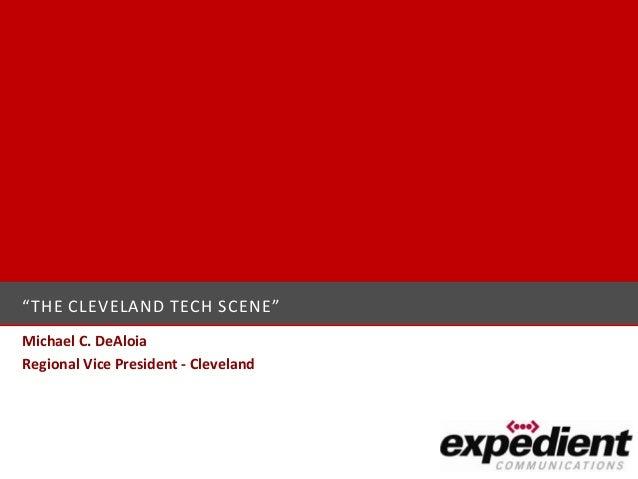 Cleveland Technology Scene (04-03-13)