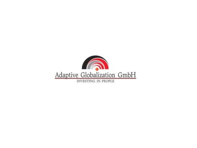 Präsentationsthema 1.Übersicht über die Übersetzungsbranche 2.Adaptive Globalization 3.Michele für Adaptive Globalization