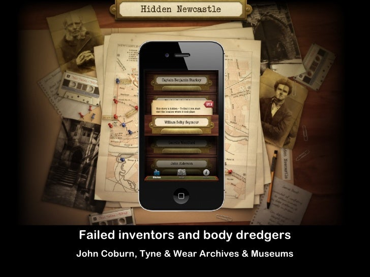 Failed inventors and body dredgersJohn Coburn, Tyne & Wear Archives & Museums