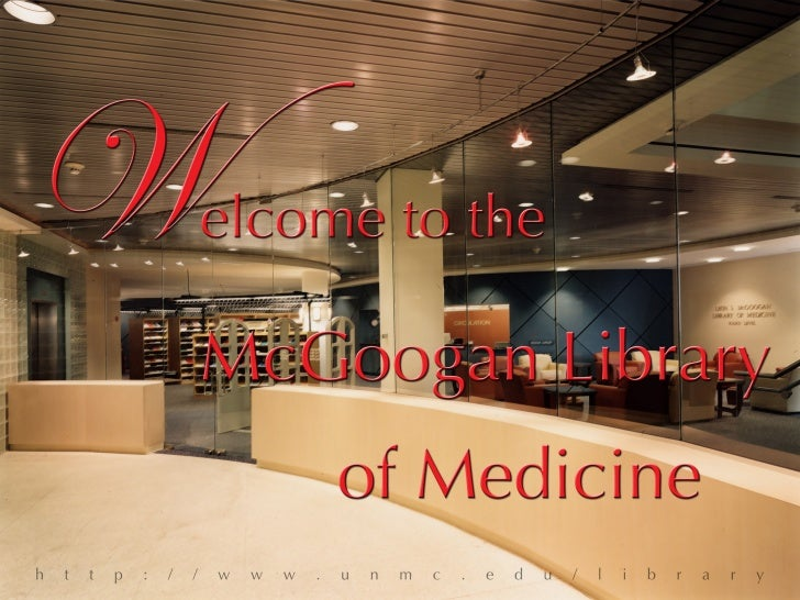 Mcgoogan Library Intro To Med School 2008