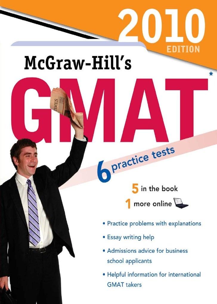 Mc graw hill's gmat 2010