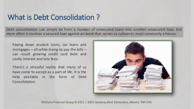 debt consolidation programs 1 alberta debt consolidation mcguire