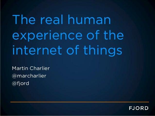 Making digital services human