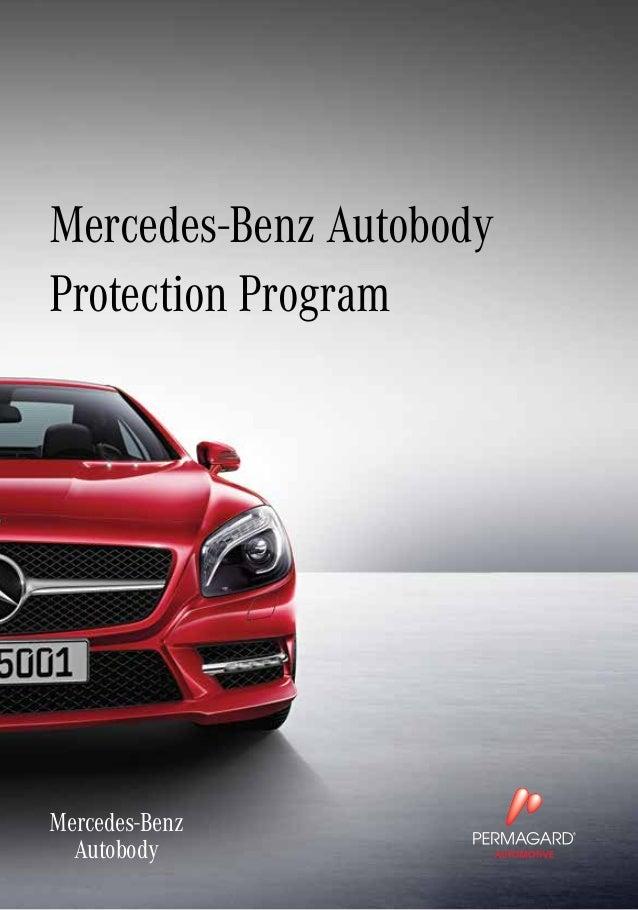mercedes benz autobody protection program by permagard
