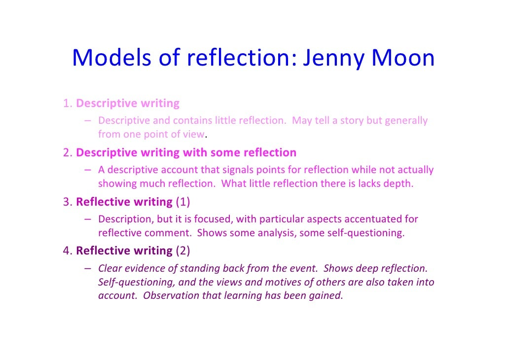 reflecting on developing teaching practice essay Essays - largest database of quality sample essays and research papers on teaching practice reflection.