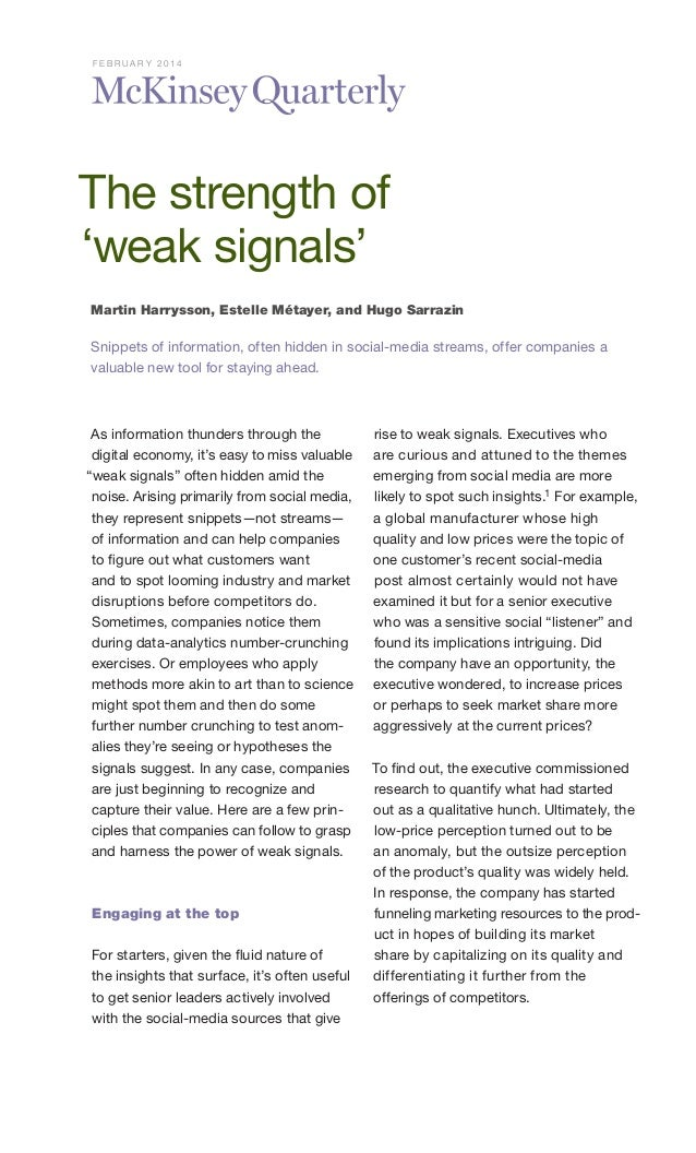M ckinsey quarterly   the-strength_of_weak_signals