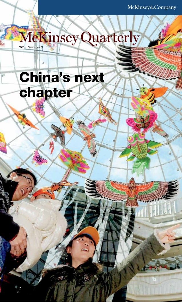 China's next chapter by McKinsey Quarterly Q3 2013