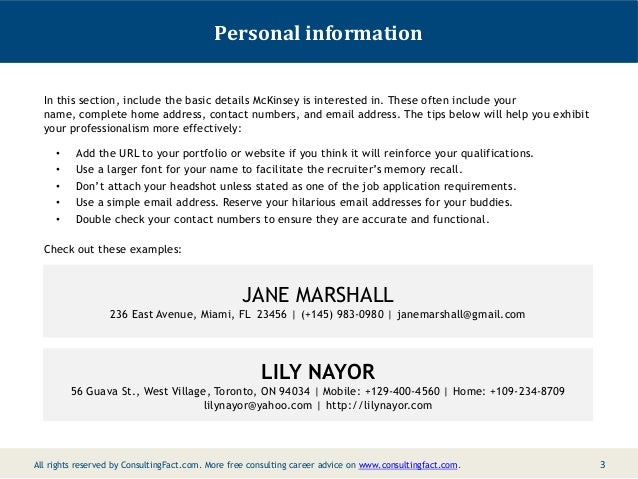 Sample Resume With Linkedin Url