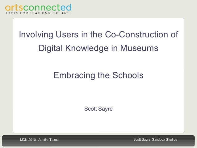 Involving Users in the Co-Construction of Digital Knowledge in Museums: Embracing the Schools