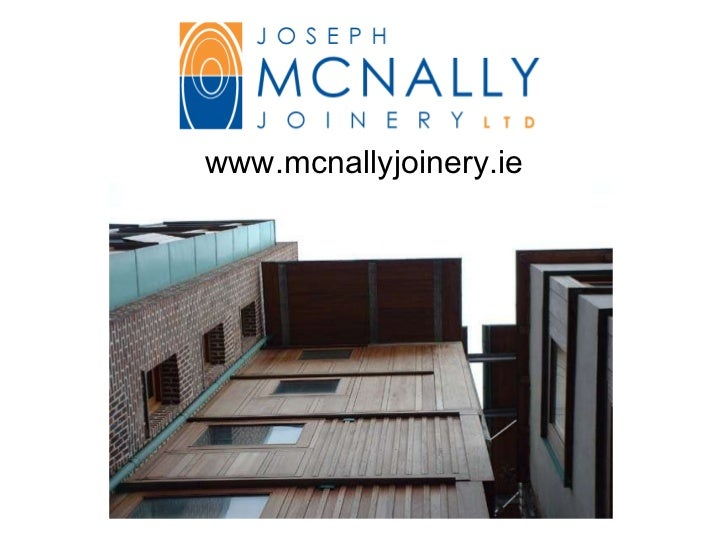 McNally Joinery Products