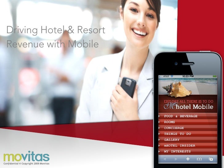 Mobile Revenue Solution for Hotels and Resorts