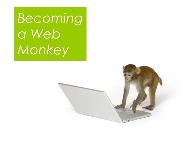 Becoming a web monkey