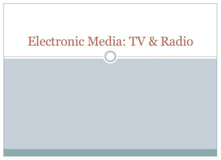 Mcom 341-14 TV & Radio
