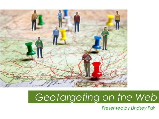 GeoTarget Marketing Strategies