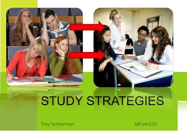 Study Strategies PowerPoint