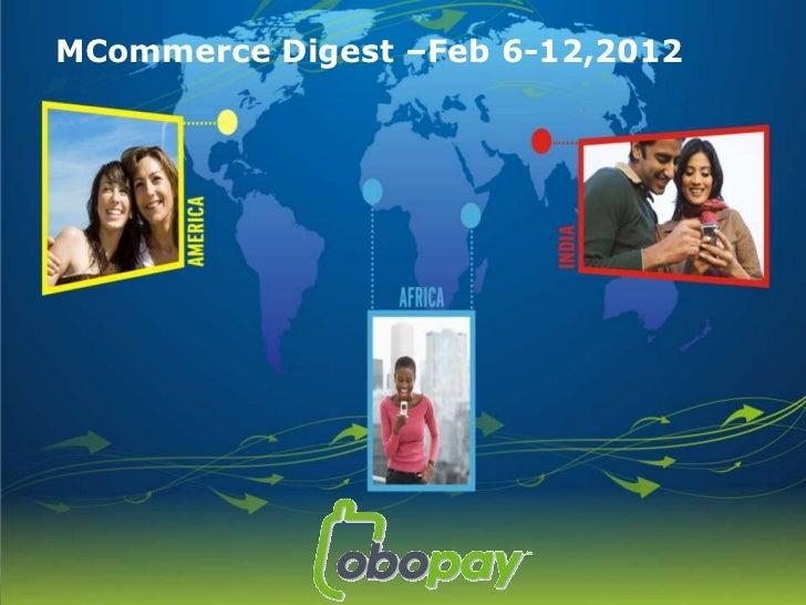 Mcommerce digest – Feb 6 - 12, 2012