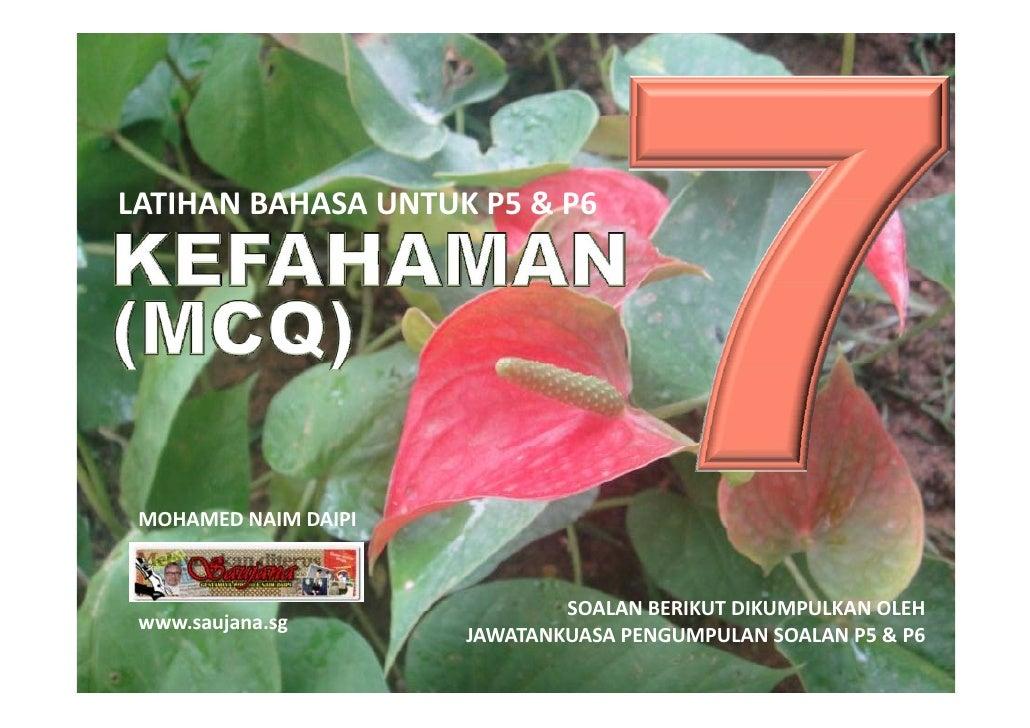 LATIHAN BAHASA MELAYU PSLE - KEFAHAMAN MCQ 07