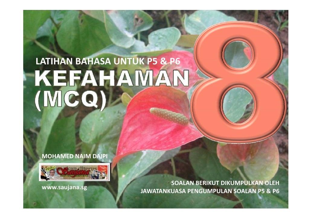 LATIHAN BAHASA MELAYU PSLE - KEFAHAMAN MCQ 08