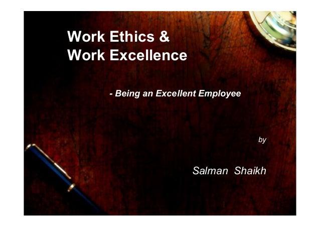 39 work ethics