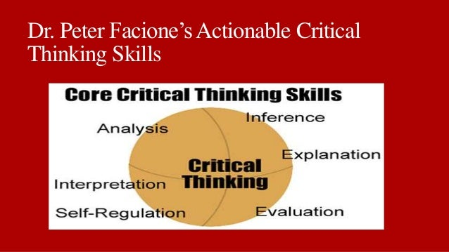 Critical Thinking  What It is and Why it Counts         update Page