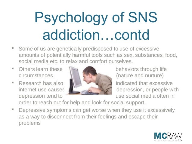 excessive internet usage and symptoms of depression psychology essay The purpose of this research is to study the relationship between excessive internet usage and symptoms of depression in university students sample.