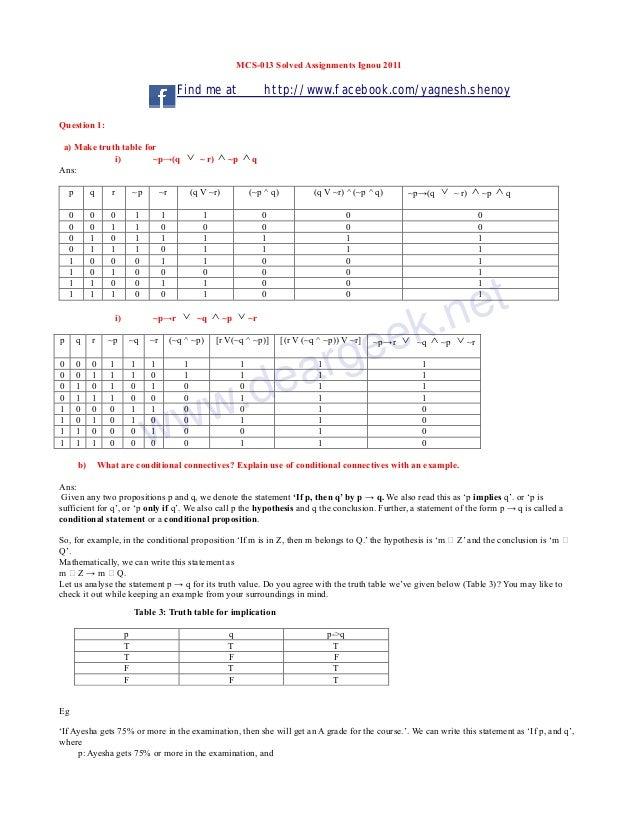 Mcs 013 solve assignment