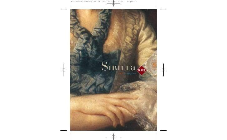 MCS-Sibilla:MCS-Sibilla   27-10-2008   17:21   Pagina 1                               Sibilla          Camera