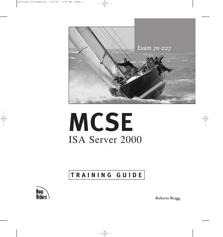 Mcse Isa Server  Ebook