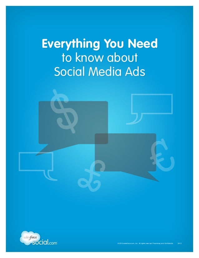Everything You Need to know about Social Media Ads