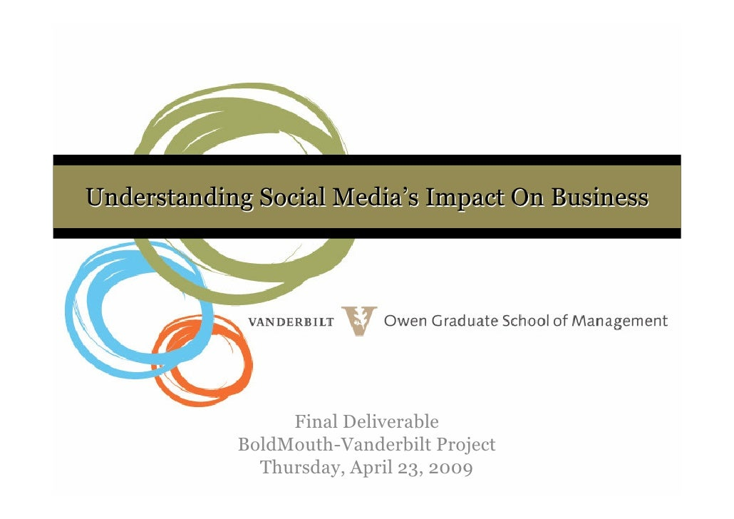 Understanding Social Media's Impact on Business