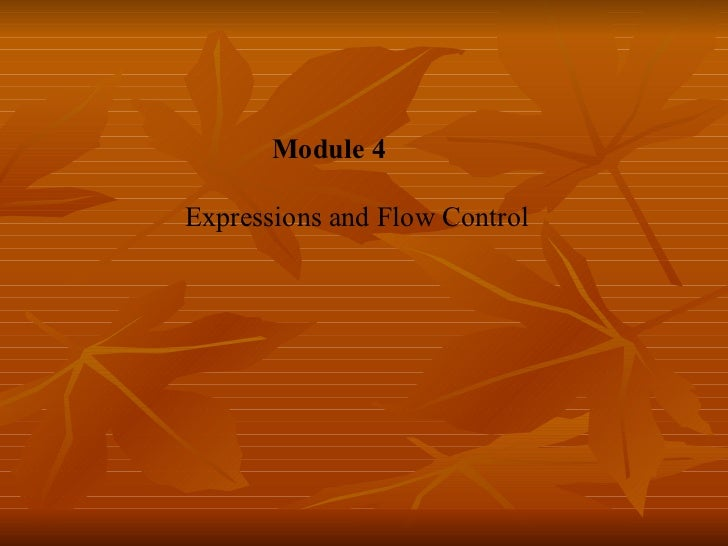 Md04 flow control