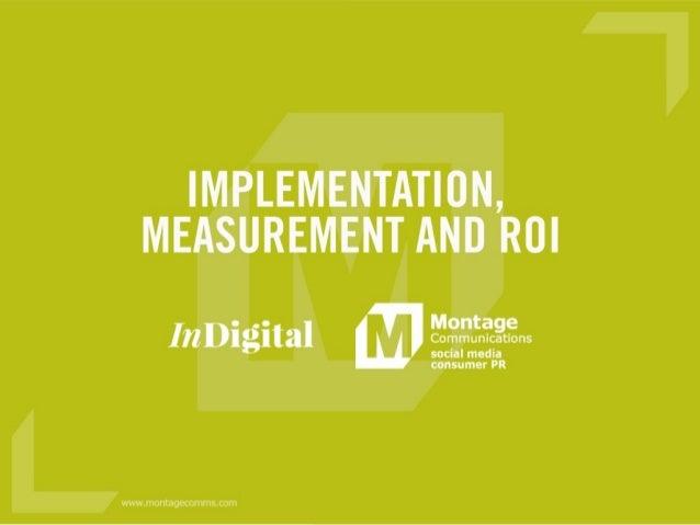 Effective Social Media Implementation and Measurement #ConnectIDEA