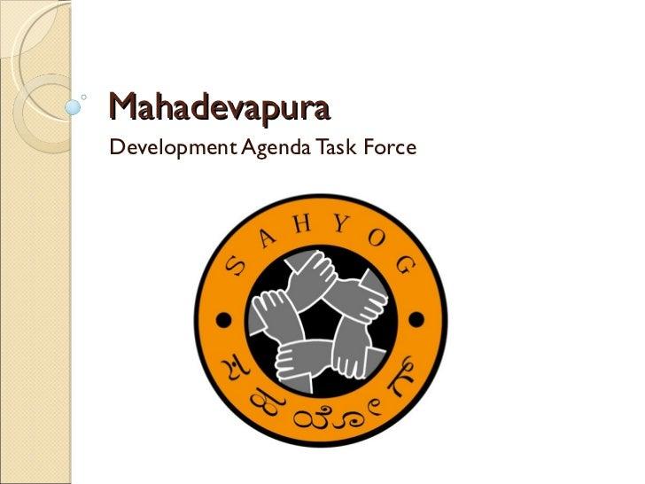 Development Agenda - Road and Traffic